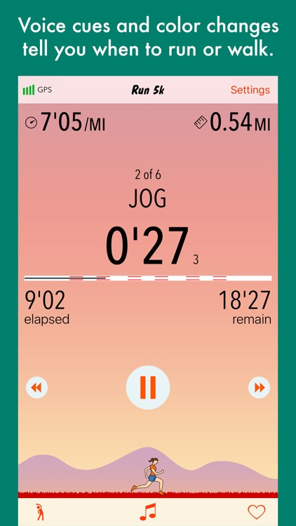 Run 5k - couch to 5k program screenshot-3