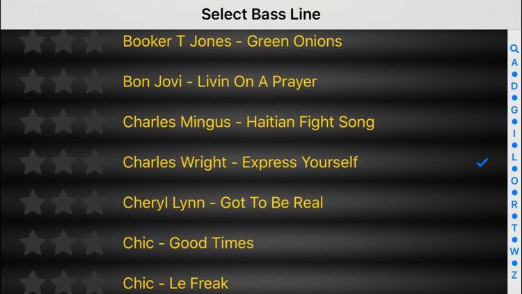 Bass Guitar Tutor Pro screenshot-3