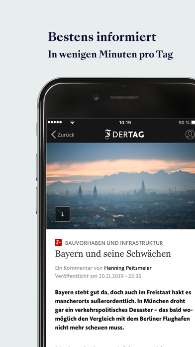 F.A.Z. Der Tag - Nachrichten Screenshot