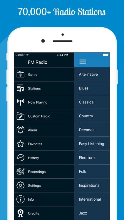 FM Radio PRO - Internet Radio screenshot-0
