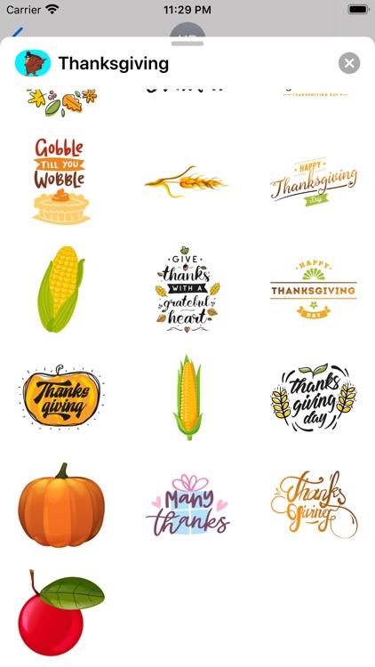 Thanksgiving Countdown App Emo
