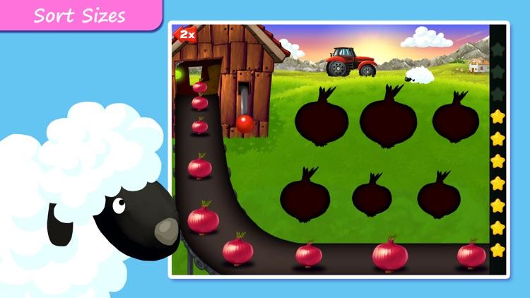 Farm Puzzles - Shapes & Colors screenshot-4