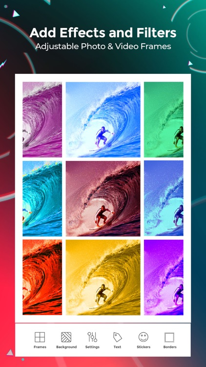 VideoFrame - Video Collage App screenshot-4