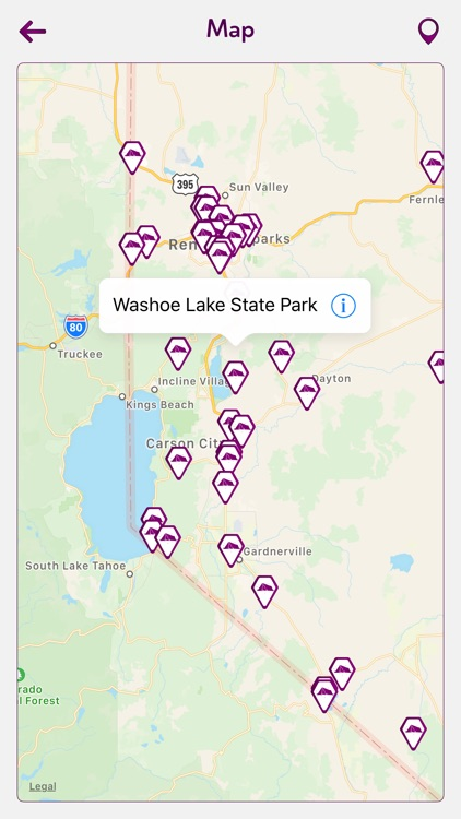Nevada Camping Guide screenshot-3