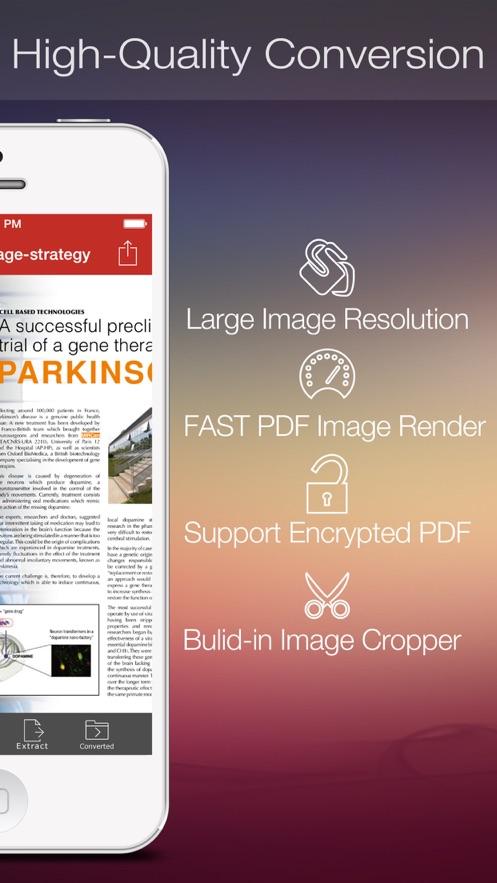 PDF to JPEG App 截图