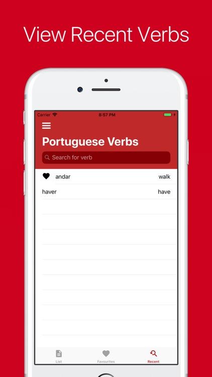 Portuguese Verb Conjugator screenshot-4