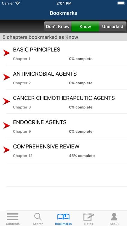Deja Review: Pharmacology, 3/E screenshot-6