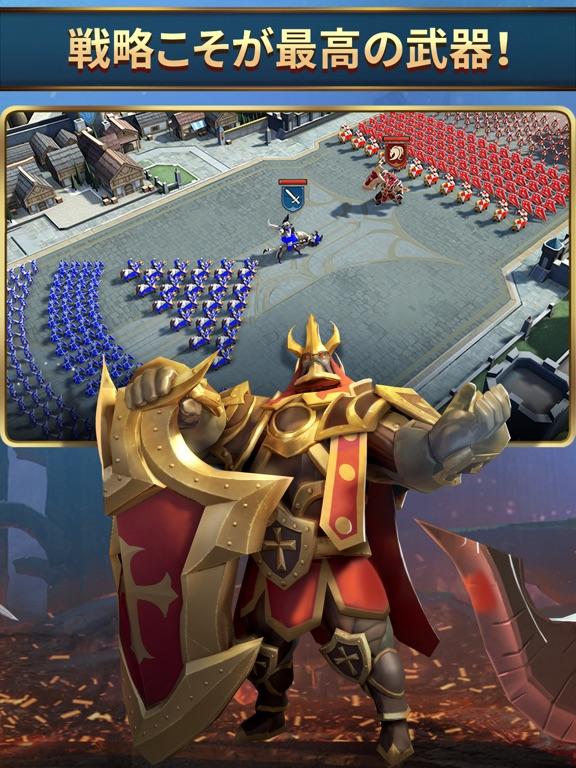 モバイルロワイヤル: バトル戦争RPGのおすすめ画像3