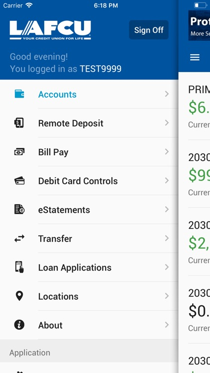 LAFCU Mobile Banking screenshot-3