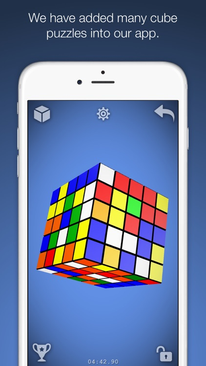 Magic Cube Puzzle 3D screenshot-1
