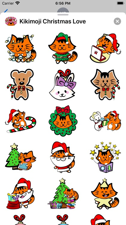 Kikimoji Christmas Love