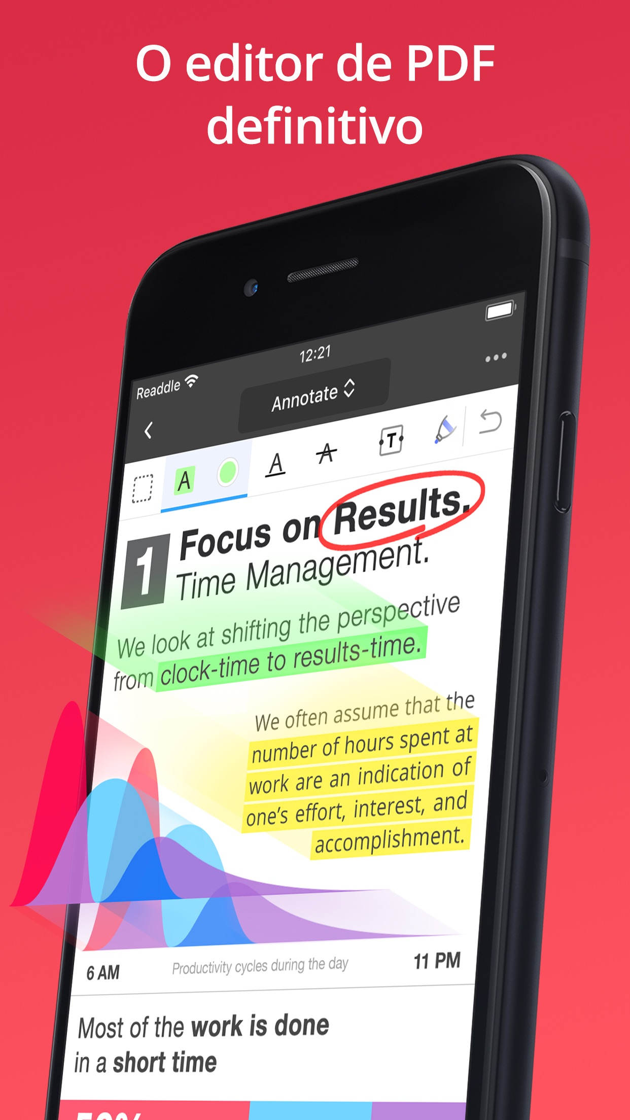 Screenshot do app PDF Expert 7: editar PDF