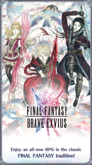 FINAL FANTASY BRAVE EXVIUS iphone images