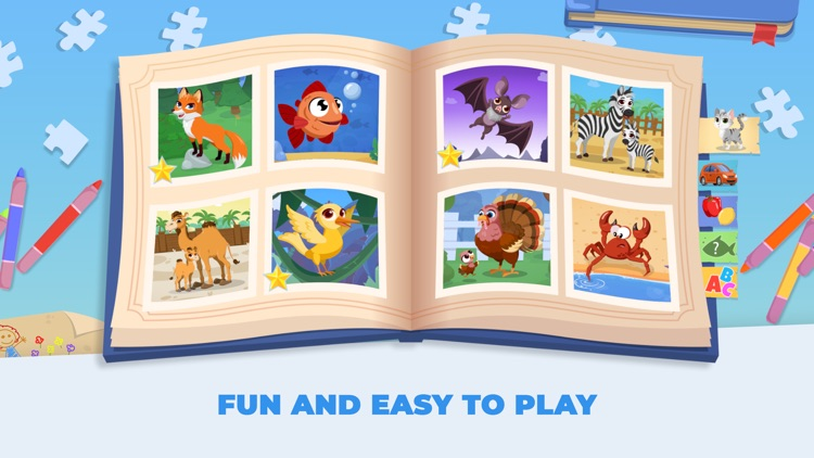 Kids Jigsaw! Puzzles 4 Toddler screenshot-3