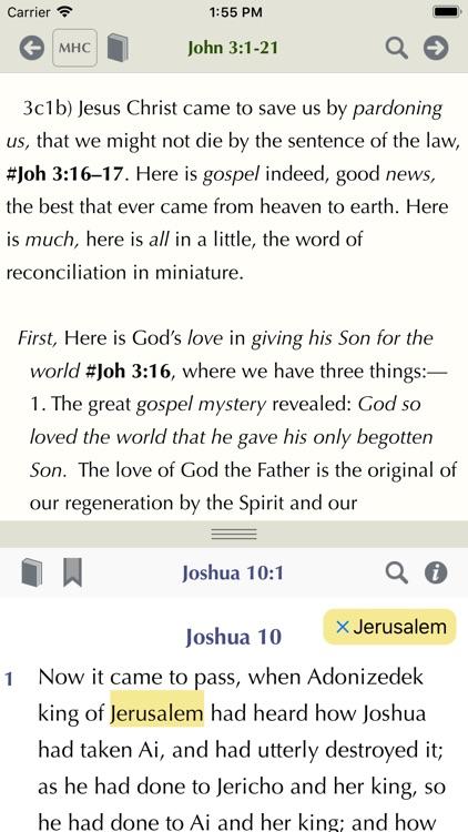 Matthew Henry Study Bible screenshot-5