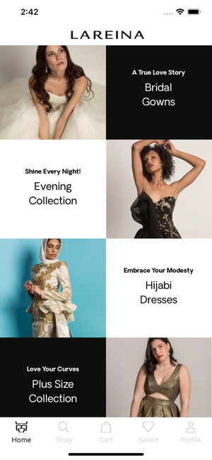 La Reina Gowns on the App Store