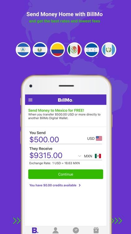 Billmo Money Transfer Wallet By Isend Llc