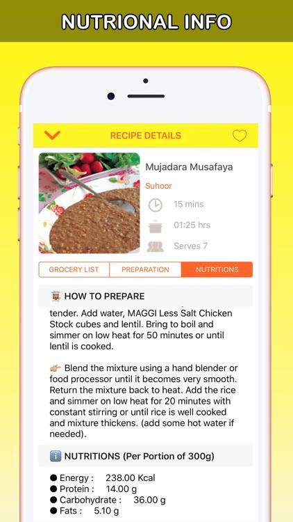 Ramadan Recipes Latest رمضان screenshot-4