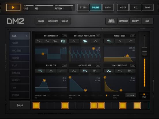 Screenshot #5 pour DM2 - The Drum Machine