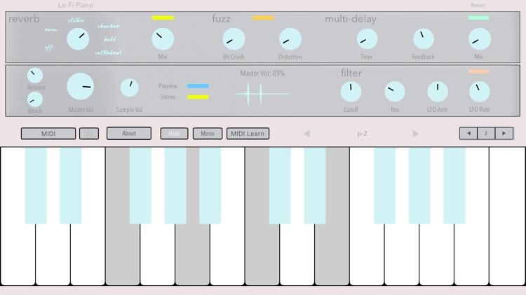 Lo-Fi Piano