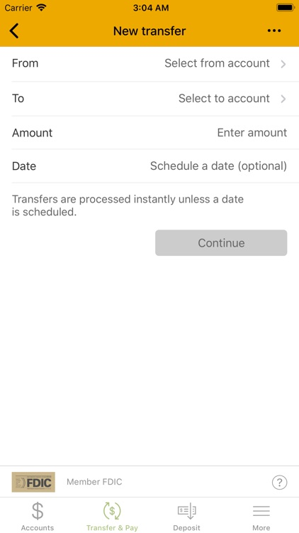 Tri Counties Bank Mobile screenshot-4