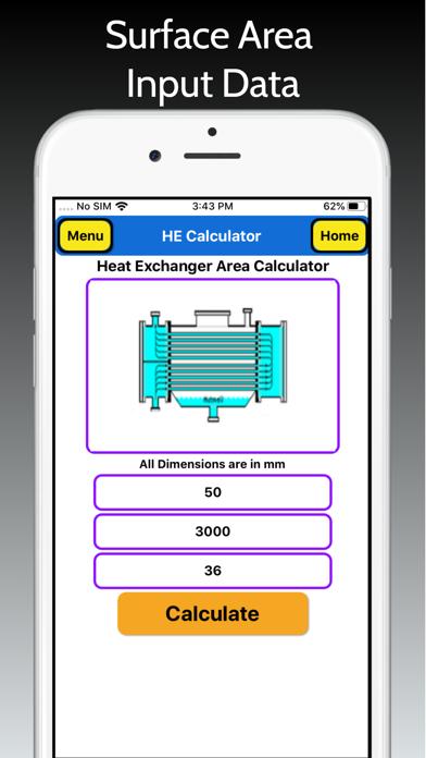 Heat Exchanger Area Pro screenshot 5