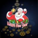 Santa Christmas Funny Stickers