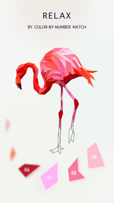 Poly Jigsaw - 私塗り絵本のおすすめ画像4