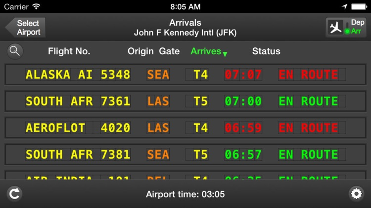 mi Flight Board Pro - Airport screenshot-3