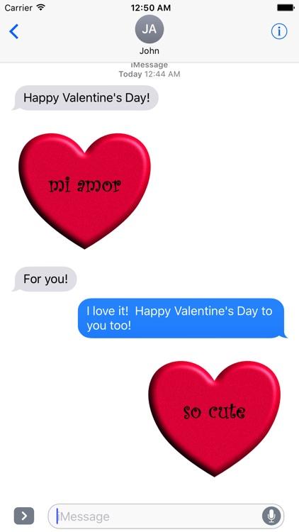 Valentine's Day Stickies screenshot-3