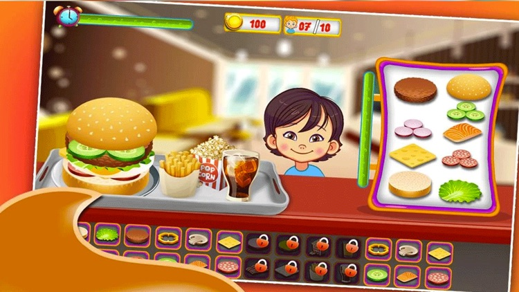 Fast Food Cooking Simulation