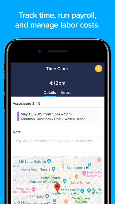 ZoomShift Employee Scheduling screenshot