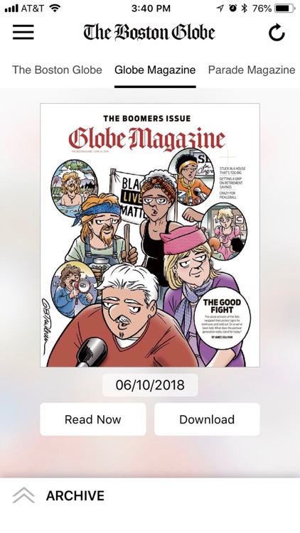 The Boston Globe ePaper screenshot-7