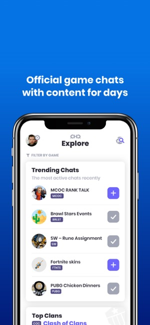 ClanHQ on the App Store