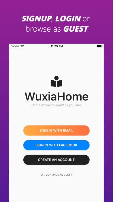 WuxiaHomeScreenshot of 4