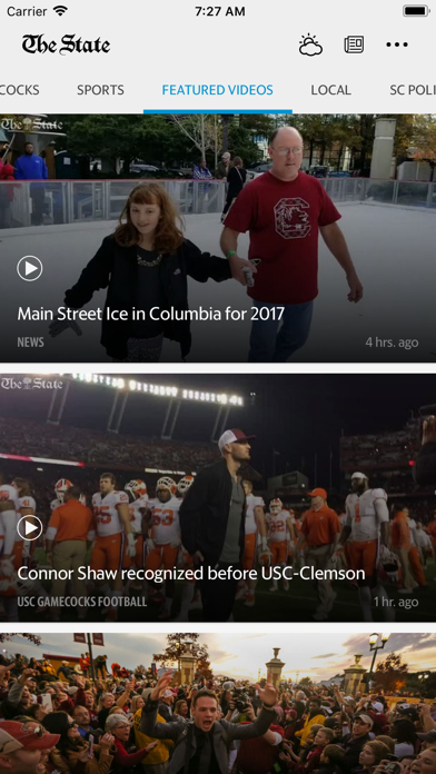 The State News Screenshot