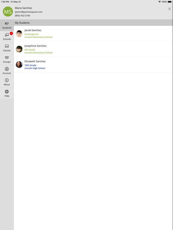 iPad Image of ParentSquare