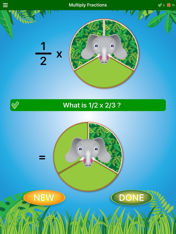 Jungle Fractions screenshot-4