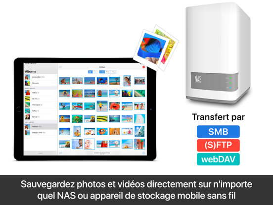 Screenshot #6 pour PhotoSync – transfert photos