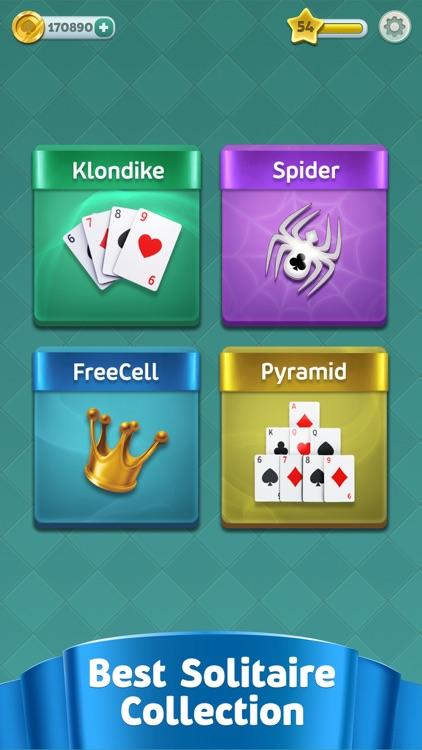 Magic Solitaire - Card Games screenshot-0
