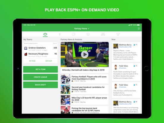 ESPN Fantasy Sports by ESPN (iOS, United States) - SearchMan
