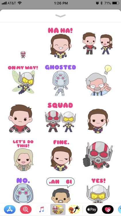Ant-Man and The Wasp Stickers screenshot-3