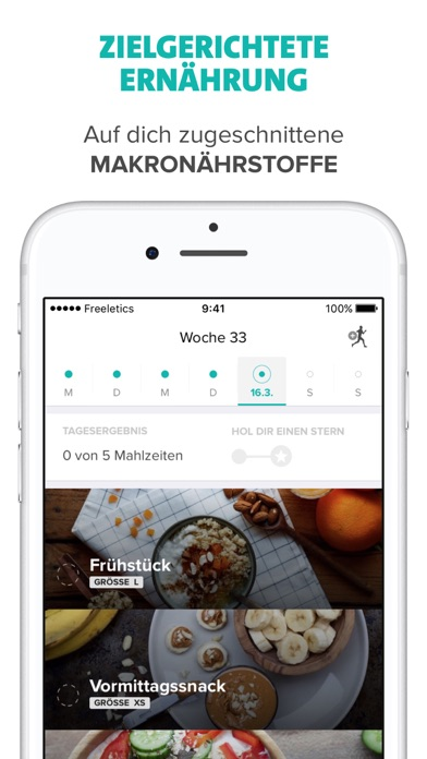 messages.download Freeletics Nutrition software