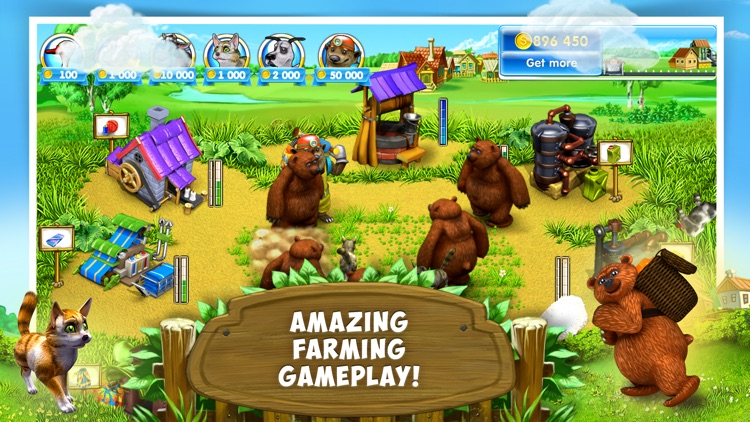 Farm Frenzy 3: Village Lite screenshot-3