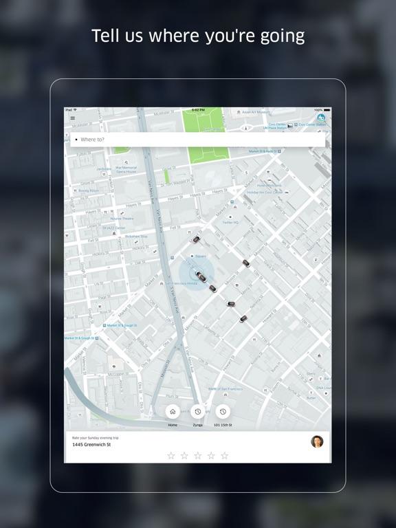 iPad Image of Uber