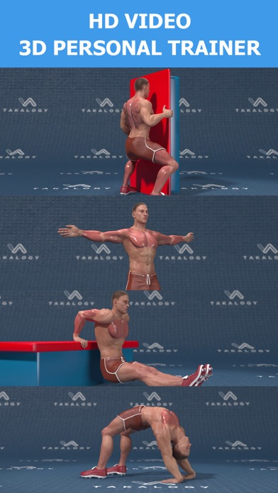 Back and Shoulder Workoutのおすすめ画像1