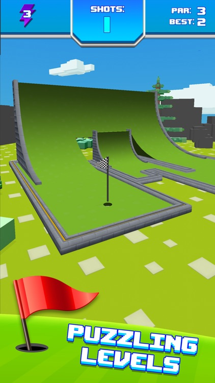 Mini Golf Star Retro Golf Game screenshot-3