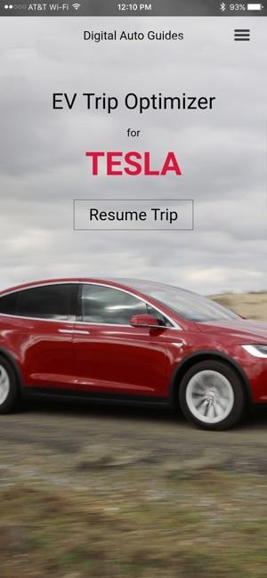 Ev Trip Optimizer For Tesla 4