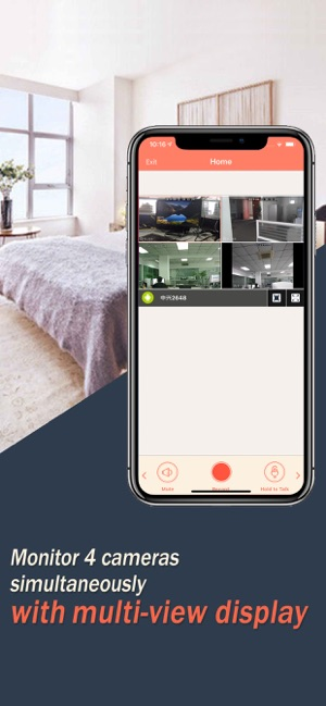 AtHome Camera -remote connect on the App Store