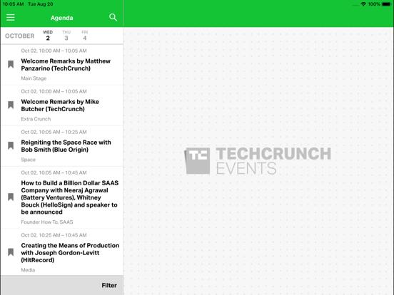 TechCrunch Disrupt Events screenshot 10